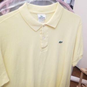 Lacoste yellow polo shirt 6